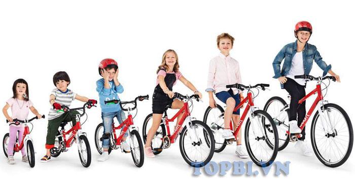 những điều quan tâm trước khi mua xe đạp trẻ em