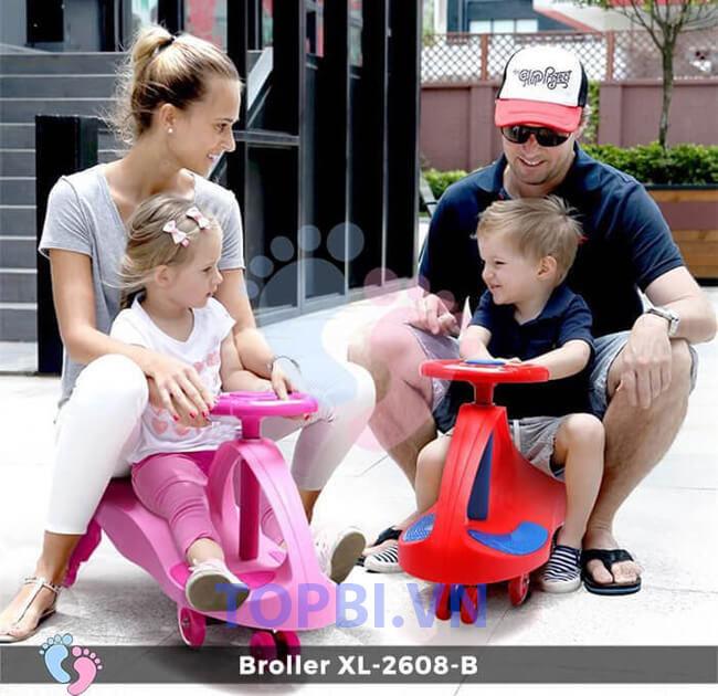 Xe lắc tay trẻ em 1 tuổi - XL-2608B