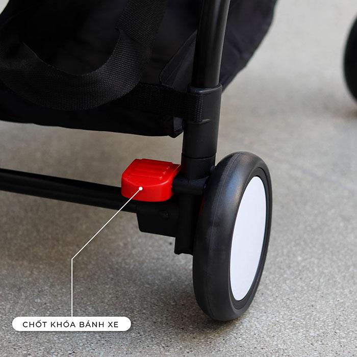Xe đẩy trẻ em gấp gọn TOPBI A09 21