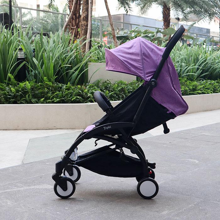 Xe đẩy trẻ em gấp gọn TOPBI A09 4