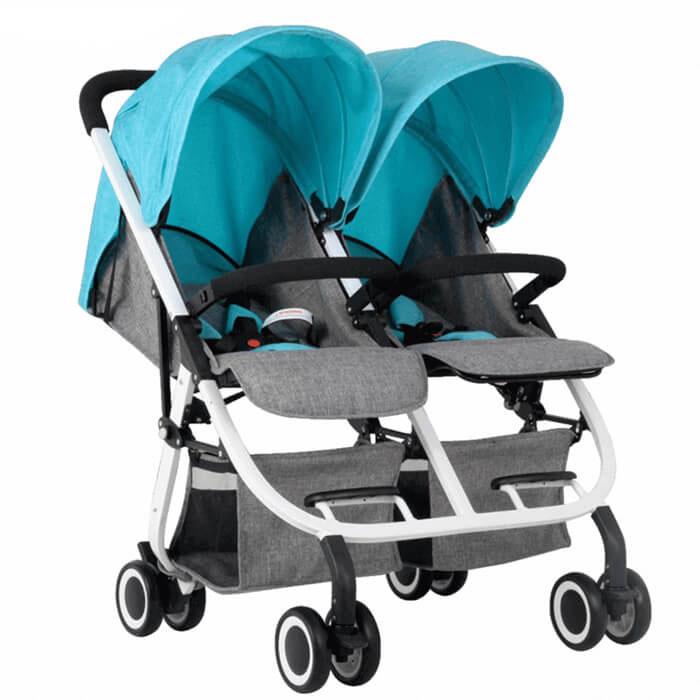 Có nên mua xe đẩy đôi khi có 2 bé sinh đôi không 2